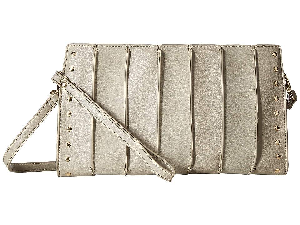 SOLE / SOCIETY Elyhn Crossbody (Grey Combo) Clutch Handbags, Gray