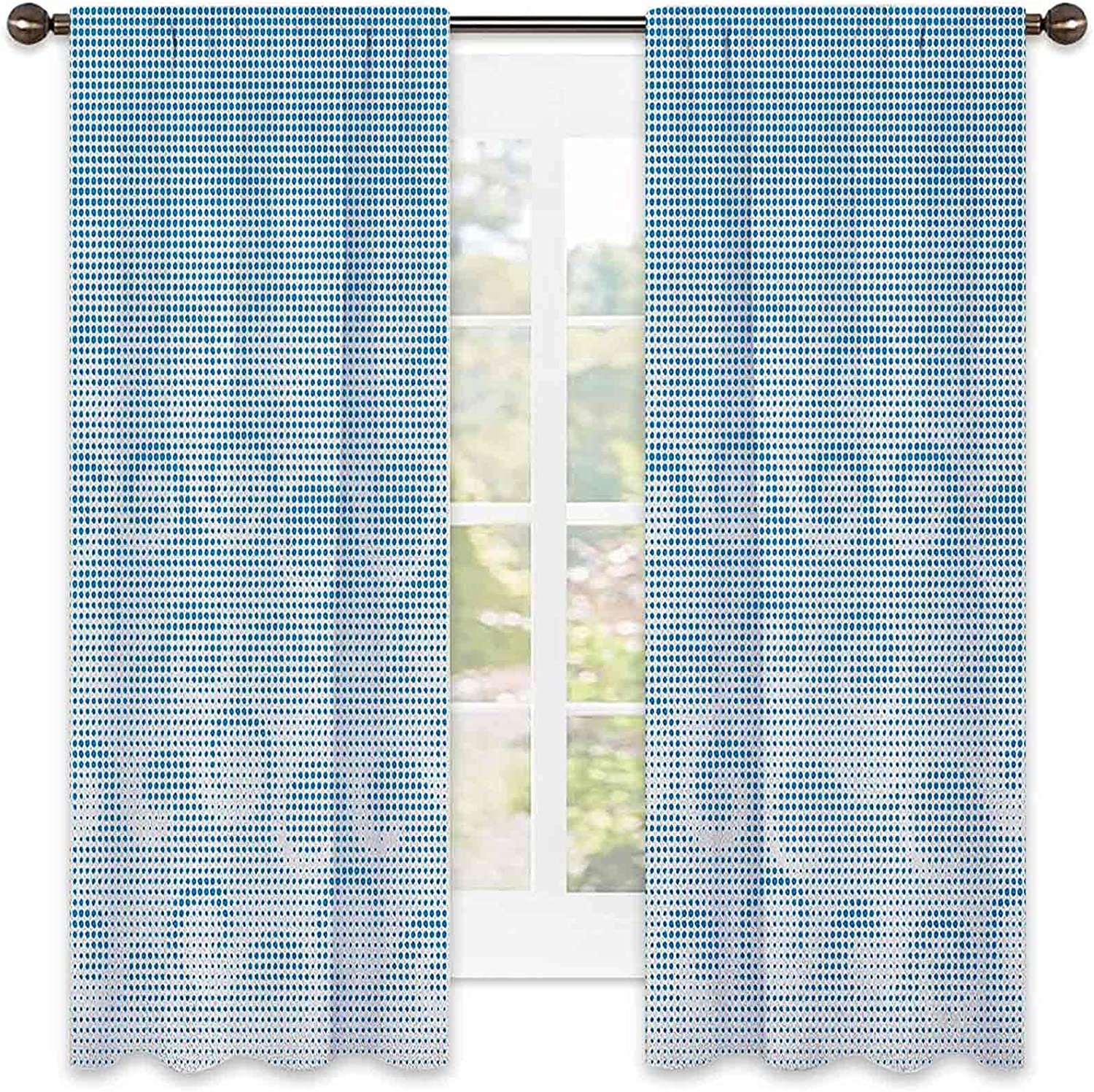 Abstract Shading Insulated Curtain Free shipping New Ci Halftones 25% OFF Background with