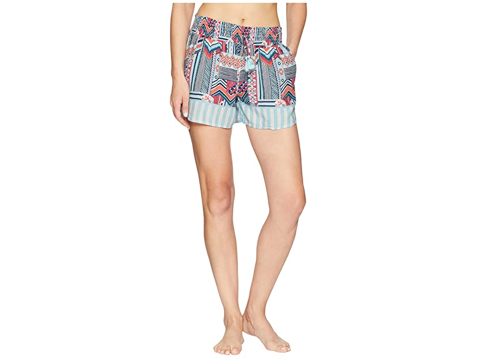Vera Bradley Pajama Shorts (Patchwork Bouquet) Women