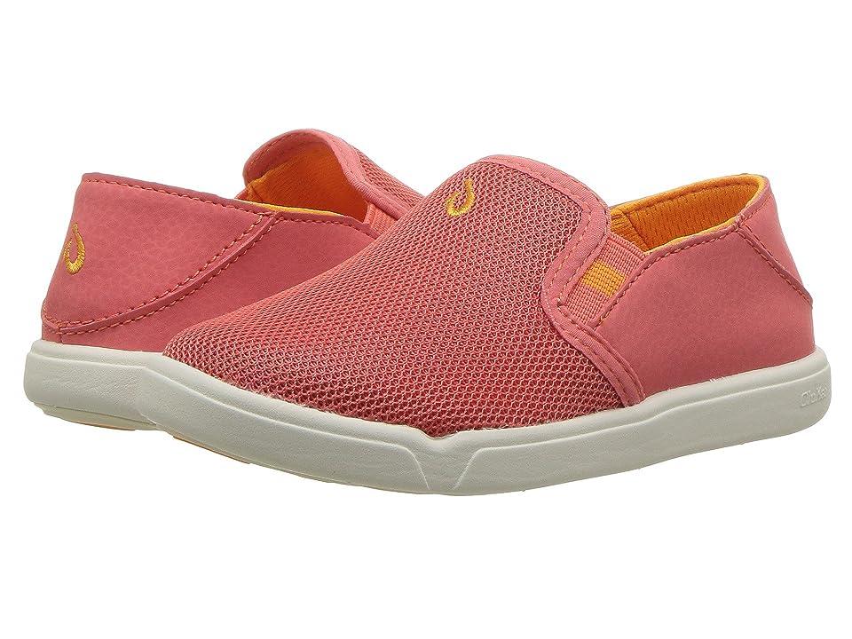 OluKai Kids Pehuea Maka (Toddler/Little Kid/Big Kid) (Spiced Coral/Flame Orange) Girls Shoes