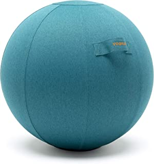 YOGIVO Sitting Ball Chair for Office and Home, Pilates...