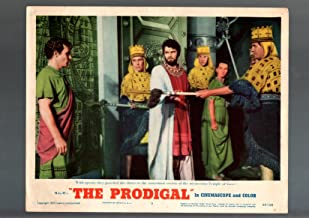 MOVIE POSTER: THE PRODIGAL-1955-LOBBY CARD-DRAMA- FN