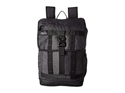 High Sierra Public Pak 2 (Black/Black/Moss) Backpack Bags