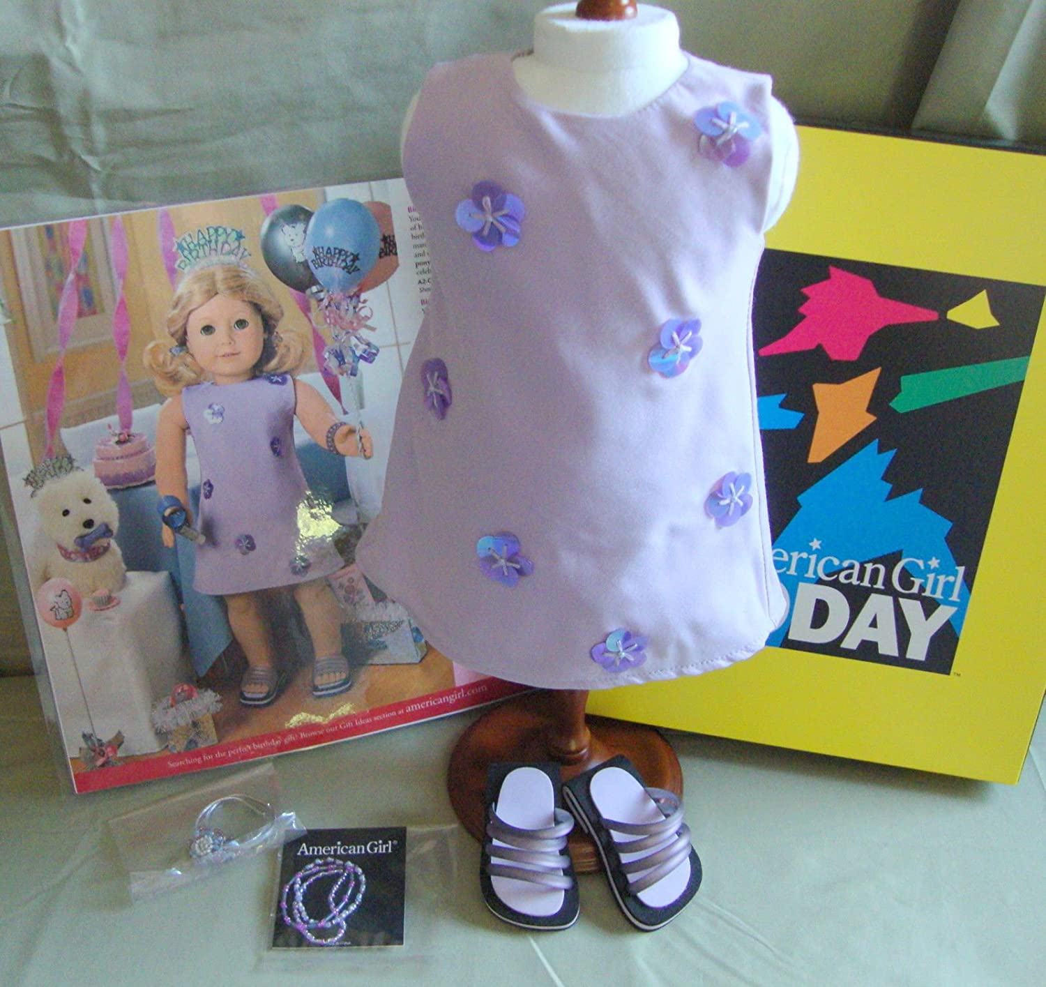American Girl Birthday with Paillettes RETIRED