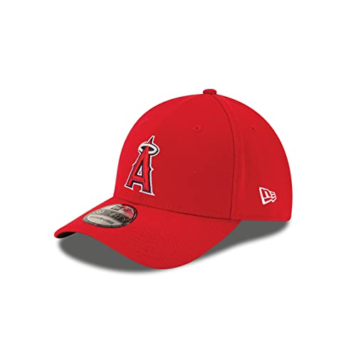 quality design 3e7a6 31f1d New Era Los Angeles Angels of Anaheim Game Team Classic 39THIRTY Stretch  Fit Hat Red