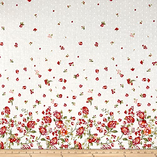 Border Print Fabric The Yard Amazon Com