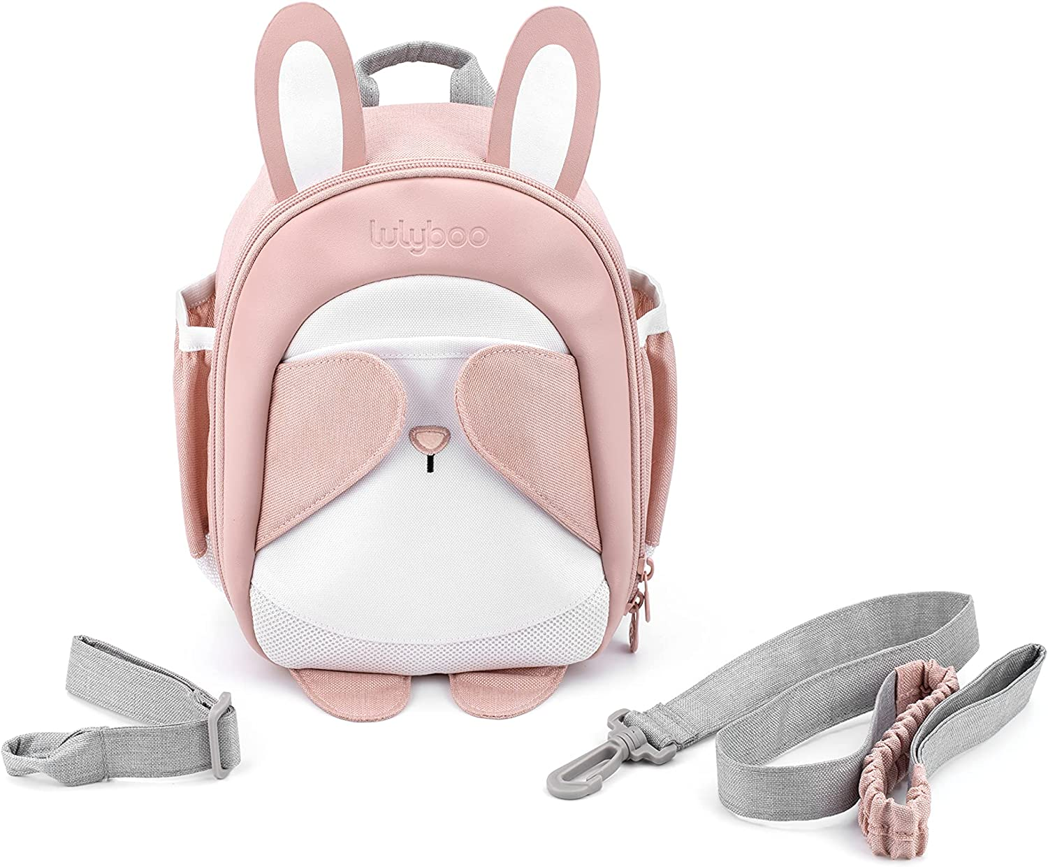 Lulyboo Toddler Backpack and Detachable Wrist Tether - 3-Point Harness, PARENT