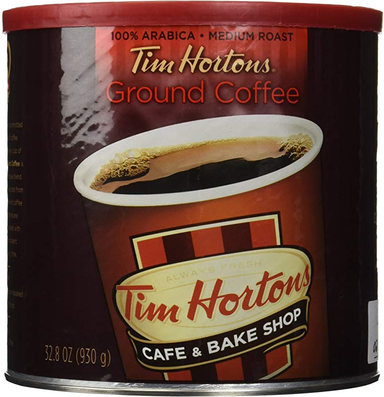 Tim Hortons Ground Coffee Can 32 8 Ounce Pack Of 2