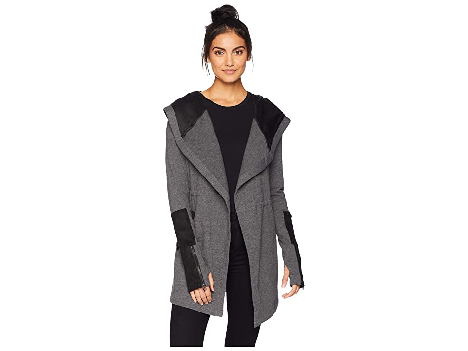 Blanc Noir Traveler Jacket (Charcoal Heather) Women