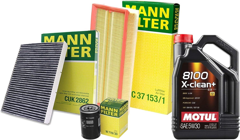5L 8100 X-CLEAN+ 5W-30 Oil Filter Service Kit 2.0 L4 9 Manufacturer OFFicial shop Sale price For Jetta