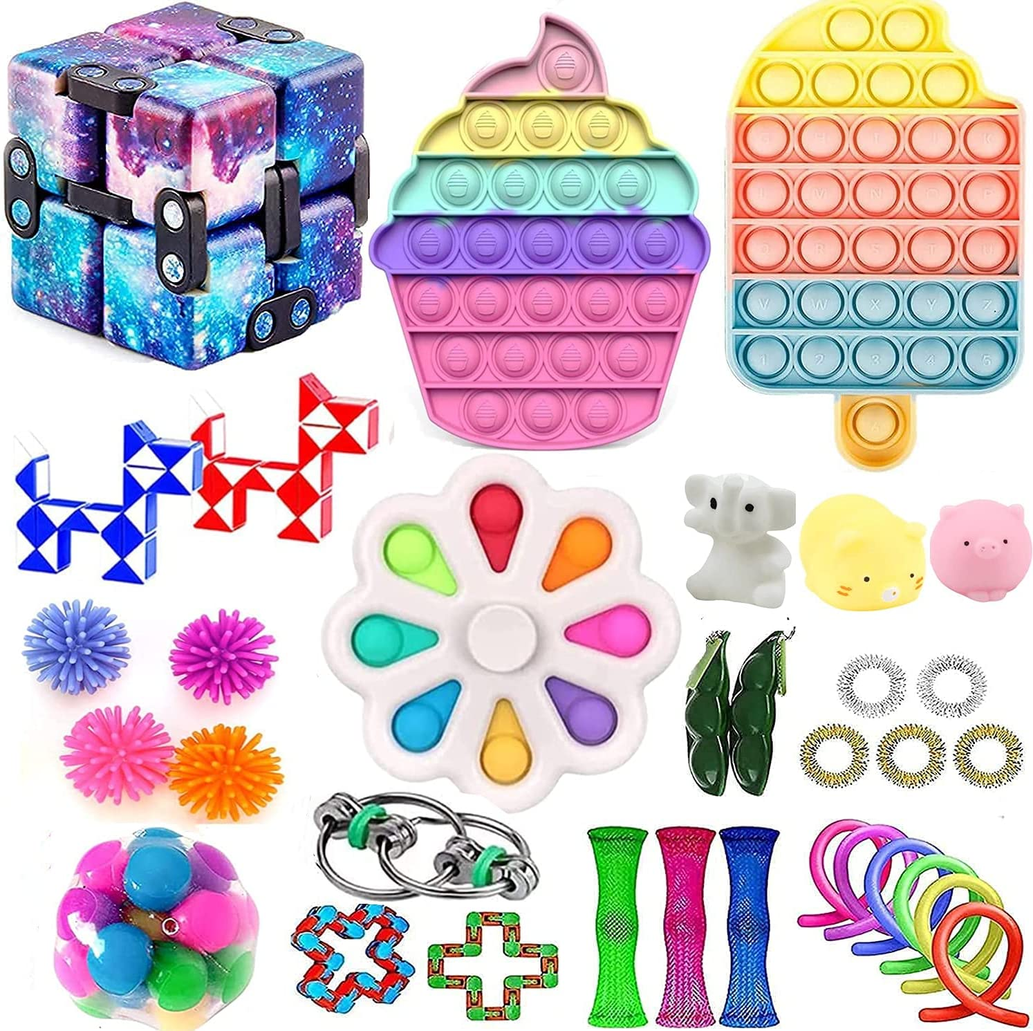 Huibao Fidget Toys Packs Sensory Toy Max 69% OFF Packages OFFicial mail order Figit