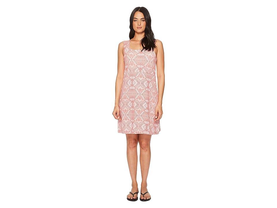 Aventura Clothing Prism Dress (Burnt Coral) Women