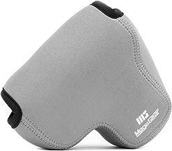 MegaGear ''Ultra Light'' Neoprene Camera Case Bag with Carabiner for Canon PowerShot SX60 HS Digital Camera (Gray)