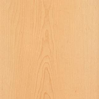 Maple, White, Flat Cut, 24x96 10 mil (Paperback) Wood Veneer Sheet