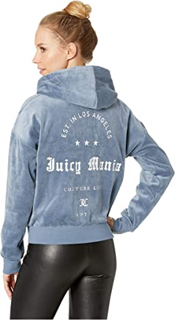 Track Velour Juicy Mania Sunset Jacket