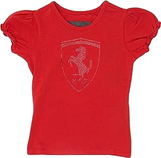 Kid Girl Glitter Shield T-Shirt