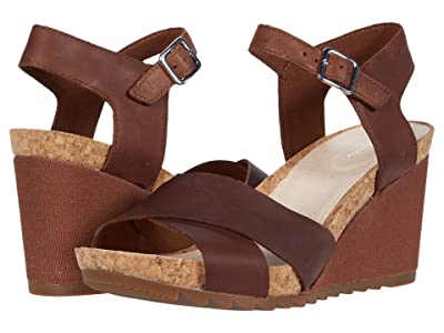 Clarks Flex Sun (Tan Leather) Women