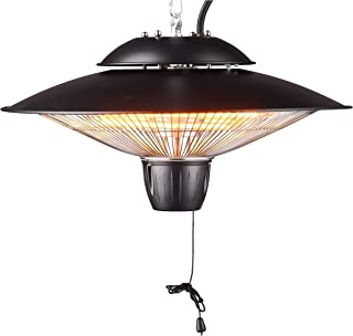 DONYER POWER 1500W Outdoor/Indoor Electric Patio Heater, Ceiling Mounted, Iron
