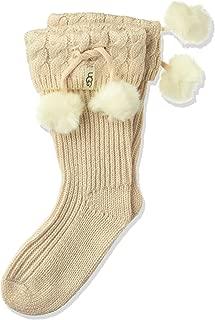 Girls' Big Raana Pom Rainboot Sock
