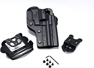 Speed Beez Ruger GP-100 4.2 Inch Outside The Waist Band Tactical Revolver Holster (Fits Most Ruger GP100 up to 4.2 inches)