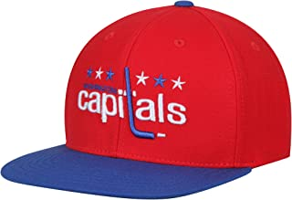 AMERICAN NEEDLE Washington Capitals Replica Wool Adjustable Hat Red