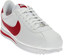 Nike Men's Cortez Basic Leather Casual Shoe White/Red