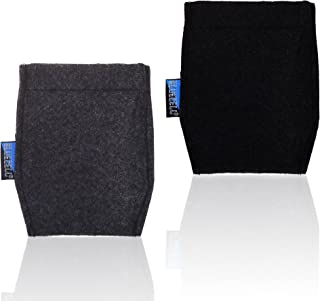 2-Piece Pocket Square Card Holder for Man's Suits