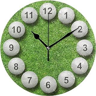 MIKA 置き時計 掛け置き両用 卓上 時計 おしゃれ 壁掛け時計 モダン アート インテリア ウォールクロック 壁時計 新生活 置時計・掛け時計 ゴルフ・ボール