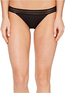 DKNY Intimates Classic Cotton Bikini Lace Trim