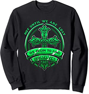 Celebrate Recovery Christian Cross Quote Apparel Sweatshirt