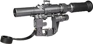 TPO SVD Dragunov Rifle Scope SVD3-9x24First Focal Plane Sniper Hunting Riflescope FFP Illuminated Rangefinding Reticle