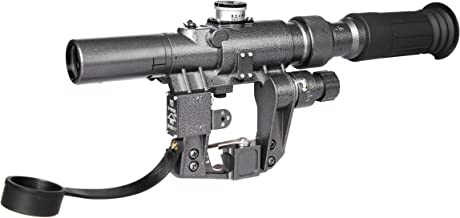TPO SVD Dragunov Rifle Scope SVD3-9x24 First Focal Plane FFP Illuminated Rangefinder Reticle for Century arms