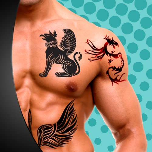 Editor de fotos de tatuajes