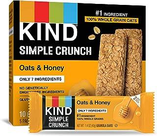 KIND Simple Crunch Bars, Oats & Honey, 40 Count