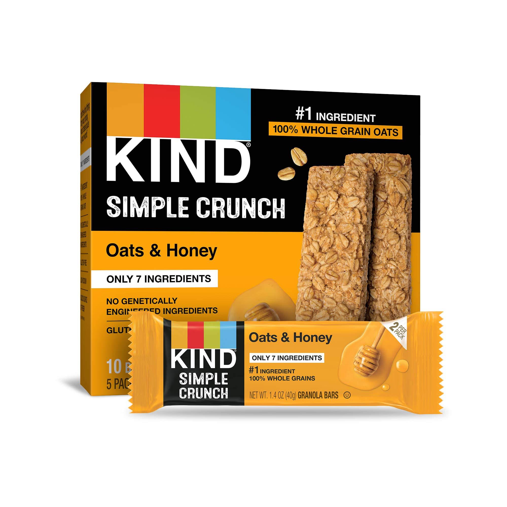 KIND Simple Crunch Honey Ounce