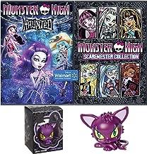 Monster High Fun Movie Cartoon Bundle Monster High Crescent Cat Vinyl Figure Fun set Scaremester High DVD + Haunted Cartoons pack