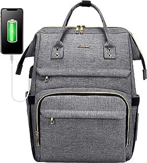 کوله پشتی لپ تاپ مخصوص کیف های مسافرتی مد بانوان کیف دستی کیف دستی کیف کار با پورت USB ، خاکستری