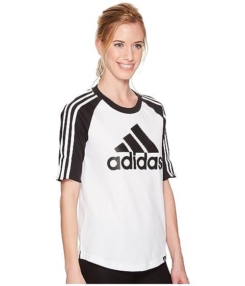 negra adidas Baseball blanca of Sport Camiseta Badge YqPwSH