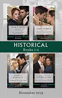 Historical Box Set 1-4/The Truth Behind Their Practical Marriage/The Lord's Inconvenient Vow/Scandalously Wed to the Capta...
