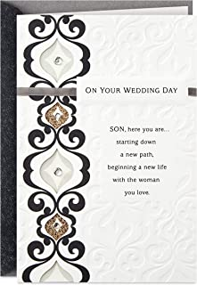Hallmark Wedding Day Card for Son (Lifetime of Love and Happiness)