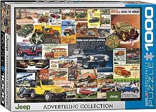 EuroGraphics Jeep Vintage Ads Jigsaw Puzzle (1000 Piece)