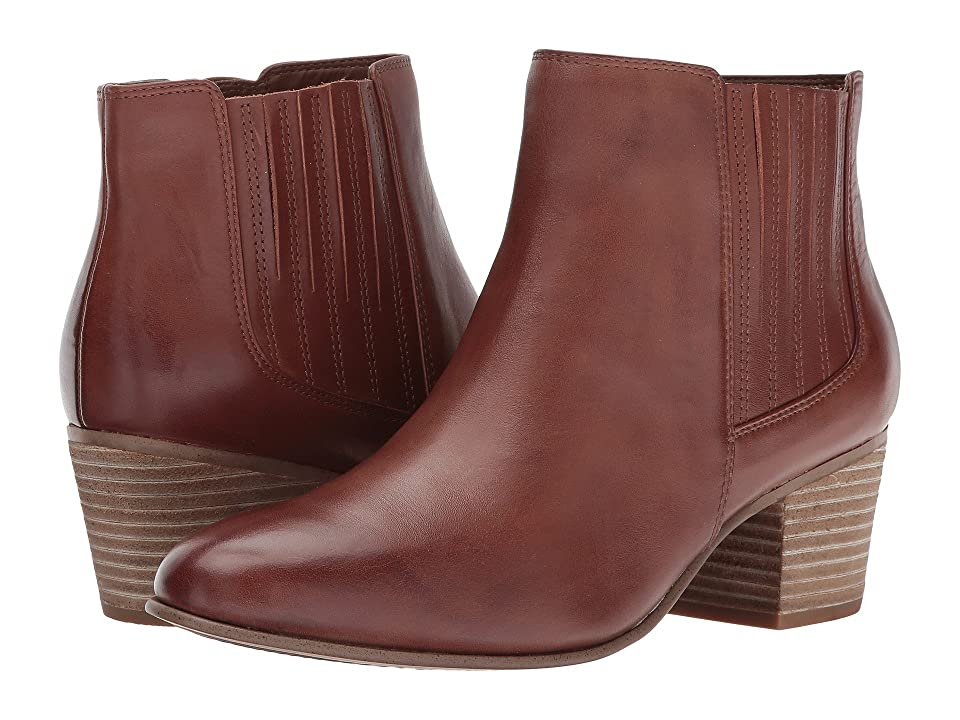 Clarks Maypearl Tulsa (Dark Tan Leather) Women