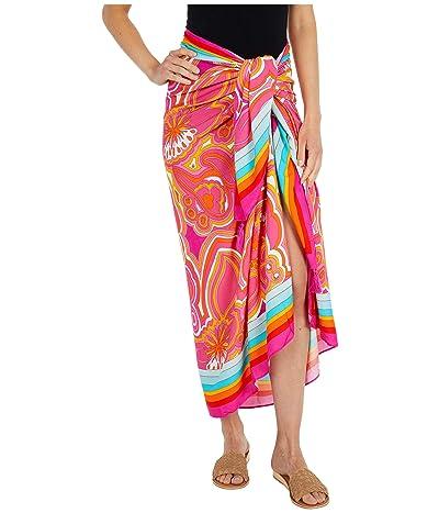 Trina Turk 25th Anniversary Morning Sunrise Pareo Swimsuit Cover-Up (Multi) Women