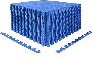 Wardmason Interlocking Foam Mat, 24''×24''×1/2'', Puzzle...