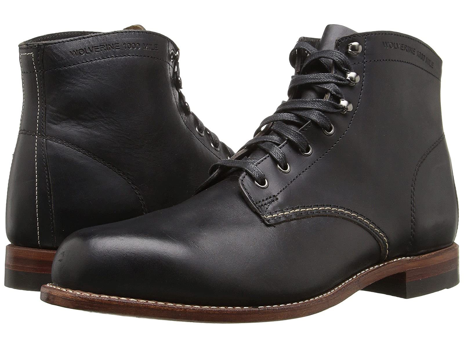 "Wolverine Original 1000 Mile 6"" BootEconomical and quality shoes"