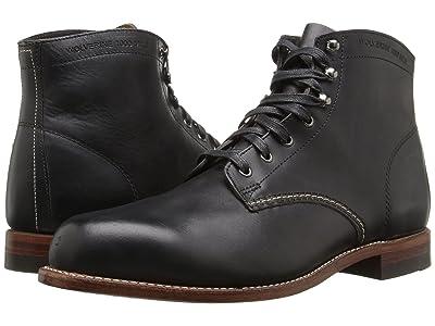 Wolverine Heritage Original 1000 Mile 6 Boot (Black Leather) Men