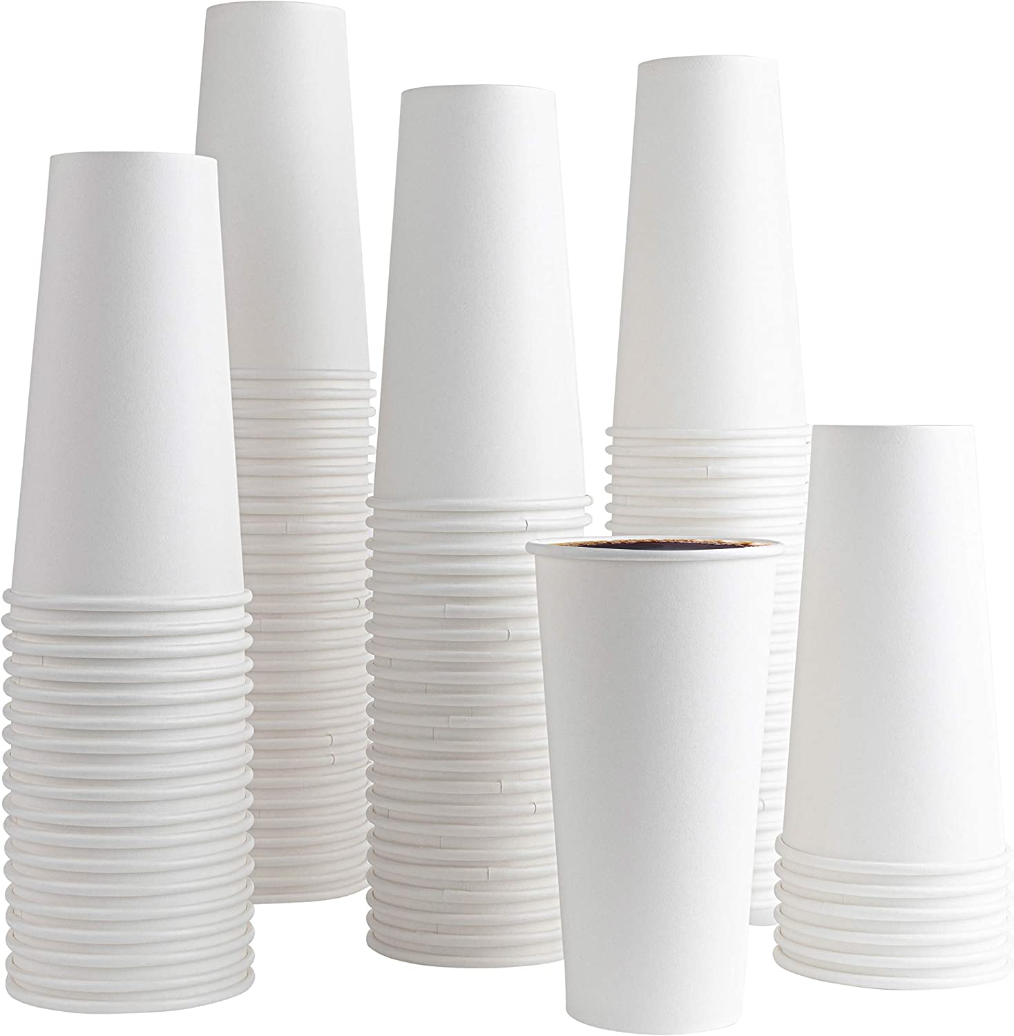 200 PACK COFFEE CUPS 20 latest ounce Cups Hot Max 47% OFF Disposable Coff Paper -