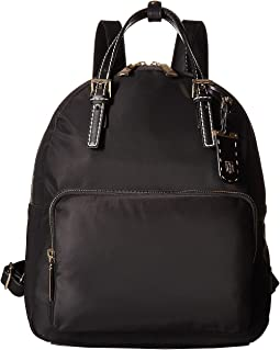 Tommy Hilfiger - Julia Double Handle Solid Nylon Backpack