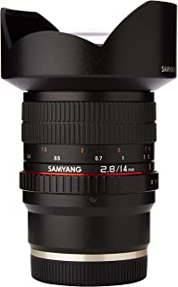 Samyang F1110606101 F2. - Objectivo para Sony-E (8 14 mm IF ED UMC) Negro