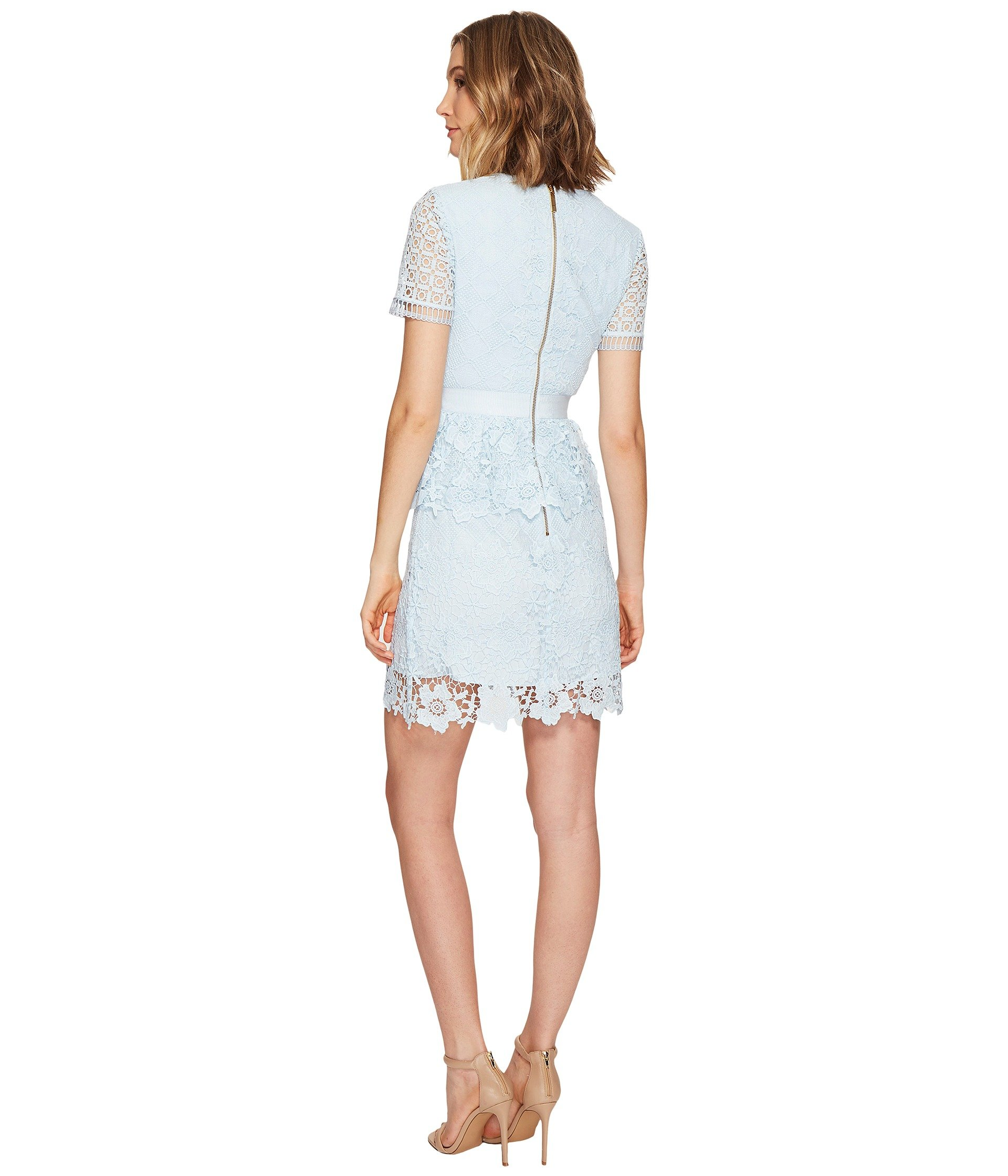 Ted Baker Dixa Layered Lace Skater Dress At 6pm